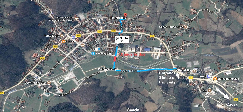 Mapa Car